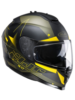 Kask integralny HJC IS-17 ARMADA BLACK/GREEN/YELLOW