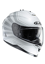Kask integralny HJC IS-17 ORDIN WHITE/GREY