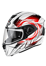 Kask motocyklowy AIROH Anger RED