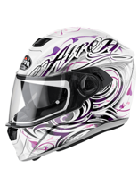 Kask motocyklowy AIROH Storm Poison White