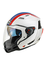 Kask motocyklowy Airoh Executive Stripes White