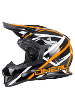 Kask mx O'neal Seria 2 THUNDERSTRUCK: Orange
