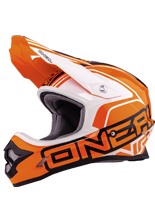 Kask mx O'neal Seria 3 Lizzy: Orange