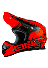Kask mx O'neal Seria 3 Lizzy: Red