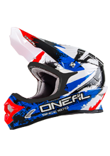 Kask mx O'neal Seria 3 Shocker Blue/Red