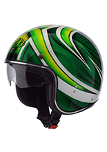 Kask otwarty Airoh Riot Turtle