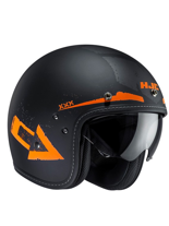 Kask otwarty HJC FG-70S TALES BLACK/ORANGE