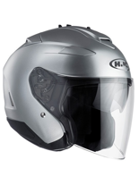 Kask otwarty  HJC IS-33 II SEMI FLAT CR SILVER