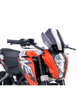 Owiewka PUIG do KTM 125 / 200 / 390 Duke 11-15