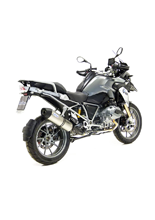 Tłumik LeoVince SBK SLIP-ON LV ONE STAINLESS STEEL do BMW R 1200GS i.e. [13-16]