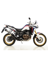 Tłumik LeoVince SLIP-ON LV ONE EVO STAINLESS STEEL do HONDY CRF 1000L AFRICA TWIN [16']