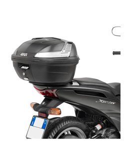 Stelaż Givi pod kufer centralny do Yamaha Xenter 125-150 (12-)