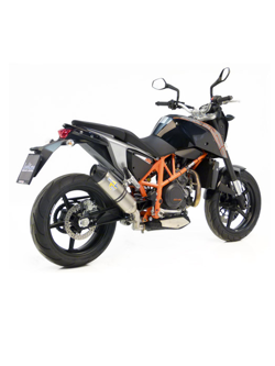 Tłumik LeoVince SBK SLIP-ON LV ONE STAINLESS STEEL do KTM 690 DUKE i.e. [12-16]