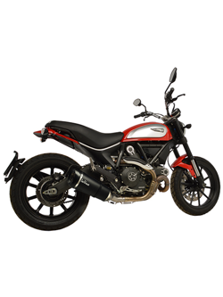 Tłumik LeoVince SLIP-ON FACTORY S CARBON CAN do DUCATI SCRAMBLER 800 [15-16]